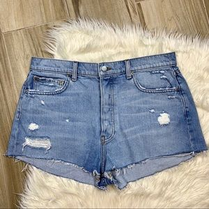 Reformation Button Fly Shorts Size 30